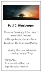 Paul Hinsberger Shamanic Counseling 6-3-2013 EDIT 2