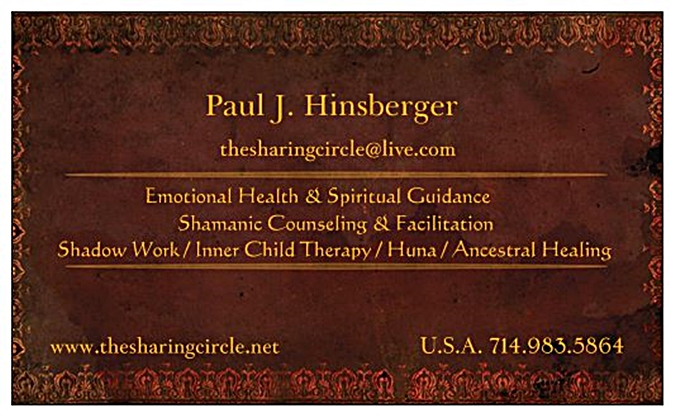 Pauls Card The Sharing Circle