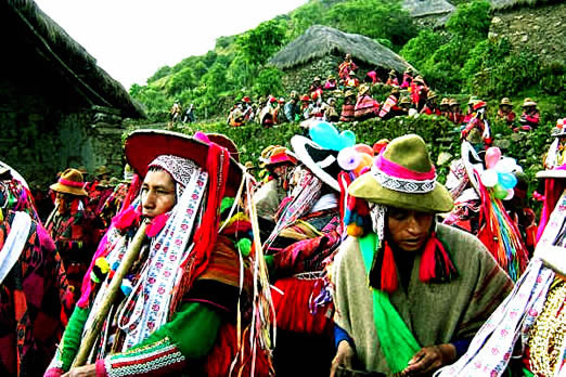Since ancestral times, peoples of the Peruvian Andes have maintained a unique way of connecting or reconnecting   themselves with the harmony of nature....