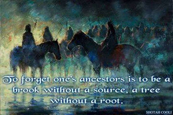 Ancestor Qoute